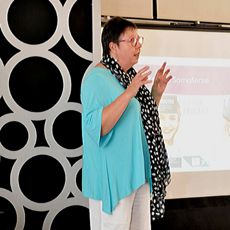 Erika Kruger, SomaSense, speaking at a workshop on self-care, wellbeing Speaker, presenter, Cape Town, workplace wellbeing, wellness, business networks, Helderberg, health and wellbeing, what is wellbeing, wellbeing at work workplace wellness tips